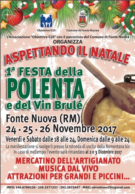 ASPETTANDO IL NATALE - 1ª FESTA DELLA POLENTA E VIN BRULE'