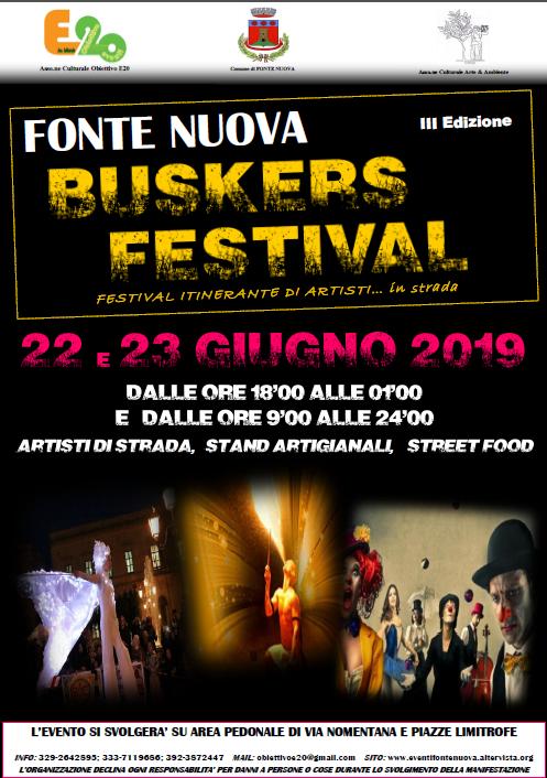 FONTE NUOVA BUSKERS FESTIVAL 3ªed